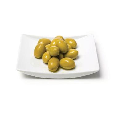 Оливки зеленые без косточки, Марика, 314 мл., жестяная банка