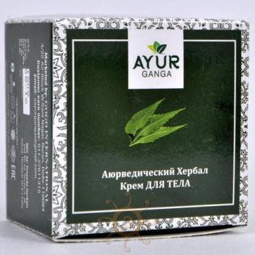 Крем для тела AYUR GANGA, 30 гр., картонная коробка