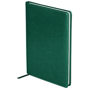 Еженедельник датированный 2021г., А4, 64л., кожзам, OfficeSpace Nebraska, зеленый