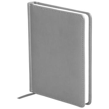 Ежедневник недатированный, A6, 136л., кожзам, OfficeSpace Winner, светло-серый