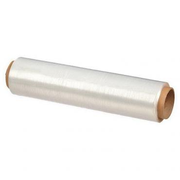 Плёнка ПЭ пищевая 300 мм., 300 м., белая 9 мкм., Мистерия, обертка фольга/бумага