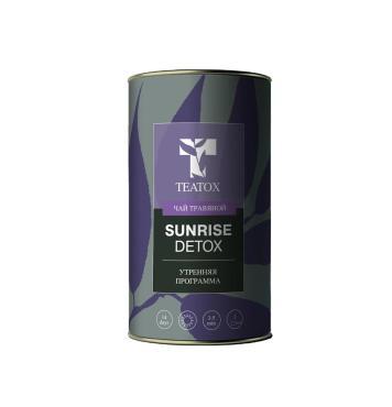 Чай травяной TEATOX санрайз утренняя программа, 70 гр., жестяная банка