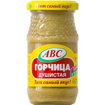 Горчица душистая АВС 180 гр., стекло