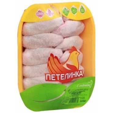 Крыло цыпленка-бройлера охлажденное Петелинка, 700 гр., вакуумная упаковка
