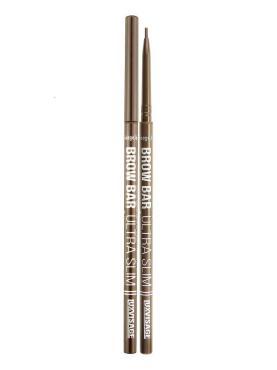 Карандаш для бровей Brow Bar Ultra Slim механический тон 306 espresso, Luxvisage, 10 гр., пластиковая упаковка