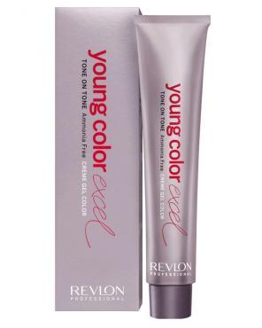 Краситель для волос Revlon Young Color Excel Полуперманентный крем-гель без аммиака 6-21 орех