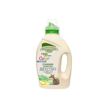 Гель для стирки ЗБК Традиции качества Детство колор, 1,2 л., пластиковая бутылка