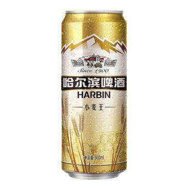 Пиво Harbin Пшеничное светлое пастеризованное 3,6%