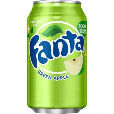 Газированный напиток Fanta Green Apple