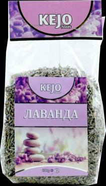 Чай с цветками лаванды Kejofoods, 50 гр., пластиковый пакет