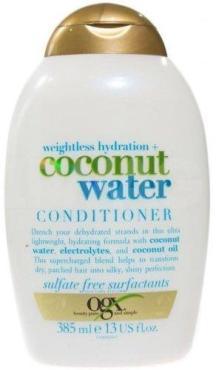Кондиционер для волос с кокосовой водой OGX Невесомое увлажнение, 385 мл., пластиковая бутылка