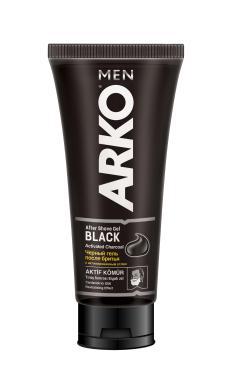 Гель после бритья Arko men Black, 100 мл., пластиковая туба
