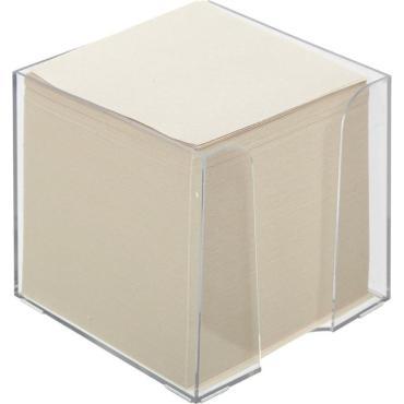 Блок для записей в подставке ATTACHE ЭКОНОМ в стакане 9х9х9 белый Т