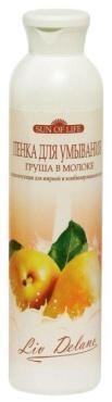 Пенка для умывания, нормализующая для жирной и комбинированной кожи, Liv Delano, Груша в молоке 250 мл., пластиковая бутылка