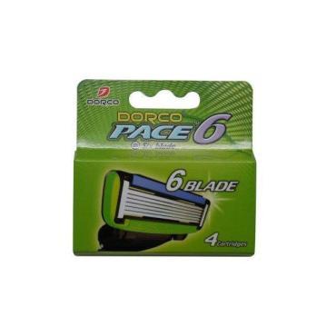 Kассеты для бритья Dorco Pace 6, картонная пачка