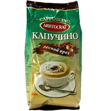 Кофе Aristocrat Капучино Лесной орех