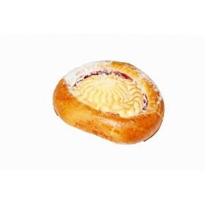 Печенье с начинкой творог и малина Ватрушка австрийская,Волжский Пекарь, 2 кг.