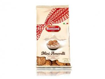 Печенье Bonomi Аmarettini,Bonomi, 200 гр., пакет