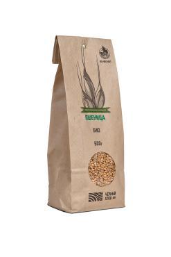 Пшеница био, Черный хлеб, 500 гр., бумажный пакет