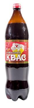 Квас Брянскпиво Домашний фильтрованный 1,5 л., ПЭТ