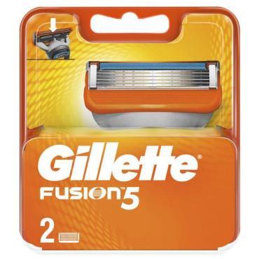 Кассеты для станка Gillette Fusion 2 шт.