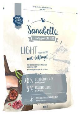 Сухой корм для кошек Sanabelle Light 400 гр., пластиковый пакет