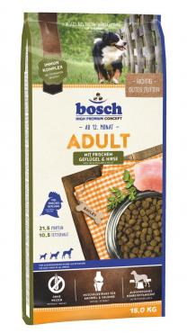 Сухой корм для собак Bosch Petfood Concept Adult Poultry & Millet 15 кг., пластиковый пакет