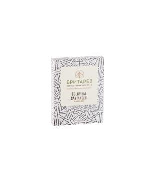 Ремесленный шоколад горький 70% какао классика Бритарев Мануфактура, 30 гр., картонная коробка