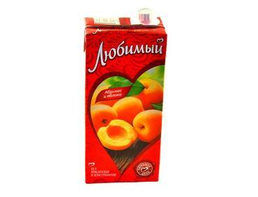 Сок яблоко абрикос, Любимый сад, 200 мл., тетра-пак