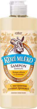 Шампунь-сыворотка для волос объем и густота Весна Kozi Mleko, 500 гр., пластиковая бутылка