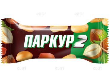 Конфеты нуга с арахисом, карамель, арахис Невский Кондитер Паркур 2, 1 кг., пластиковый пакет