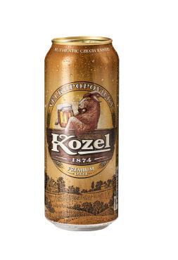 Пиво Velkopopovicky Kozel Premium светлое фильтрованное 4,6%