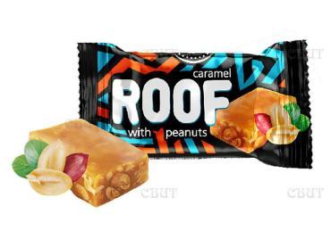 Конфеты карамель с арахисом ROOF 1 кг.
