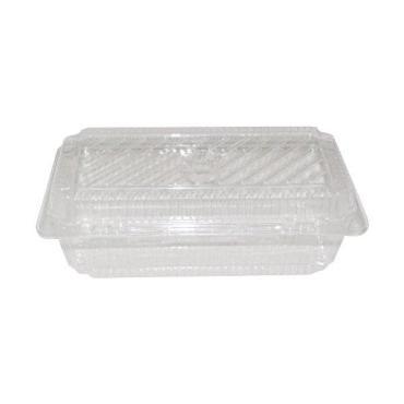 Упаковка одноразовая пластиковая цвет прозрачная 3 л., внешний 150х295х100 мм., внутри 156х245х84 мм., 250 штук, Россия