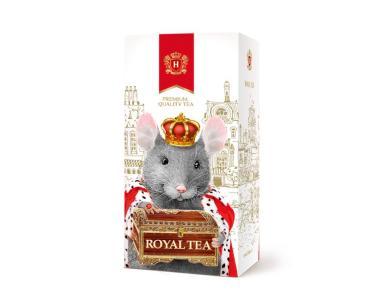 Чай Hyleys Королевский черный с ароматом цитрусовых 25 пакетиков., 50 гр., картон