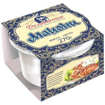 Мацони 3,2-4,5% Долголетие, 270 гр., пластиковый стакан