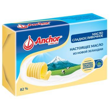 Масло сладкосливочное Anchor 82%, 150 гр., обертка фольга/бумага