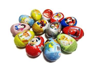 Яйцо Ванька-Встанька с игрушкой, для малч./ для дев., , Конфитрейд, 20 гр., ПЭТ