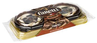 Пирожное Faretti Шоколадное