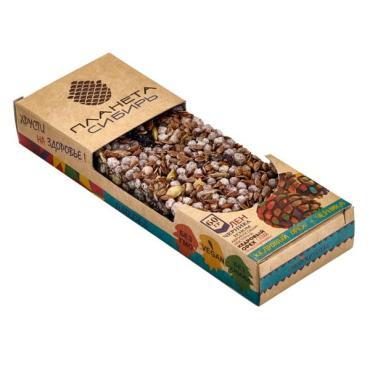 Эко-хрусты орех-черника, Планета Сибирь, 60 гр, пакет