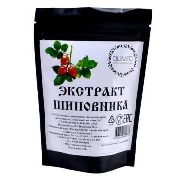 Экстракт плодов шиповника OLIMED, 100 гр., дой-пак