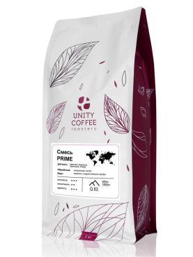 Кофе молотый Unity Coffee Prime, 1 кг., пластиковый пакет