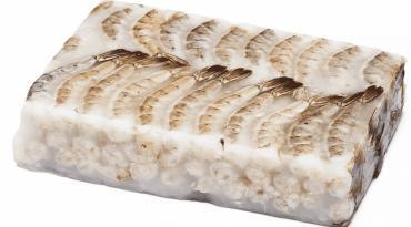 Креветки с/м, б/г 21-25 во льду 1,8 кг.