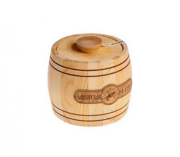 Мёд наборный липовый Башкирская медовня, 600 гр., подарочная упаковка