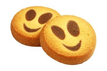 Печенье Смайлики, Конфалье, 2.5 кг., картон