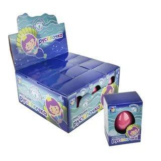 Яйцо с растущей русалкой 1 Toy, 24 гр., пластиковая упаковка