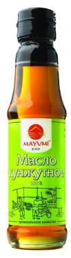 Масло кунжутное 100% ,  Mayumi, 150 гр., стекло