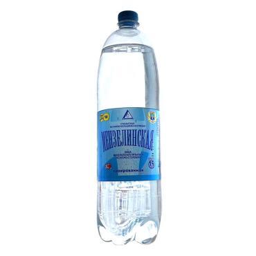 Вода Мензелинская питьевая газированная артезианская Мензелинка ,500 мл.,ПЭТ