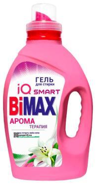 Гель для стирки BiMax Ароматерапия, 1,3 кг., ПЭТ
