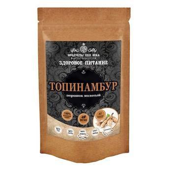 Топинамбур, порошок молотый, Продукты XXII века, 100 гр., флоу-пак